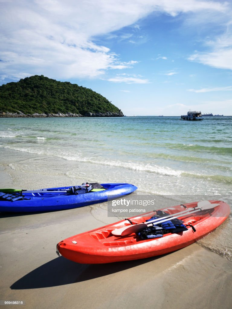 Jhakhrapong Point (End of Tham Pang Point). famous beach at Sichang island in Thailand. : Stock Photo