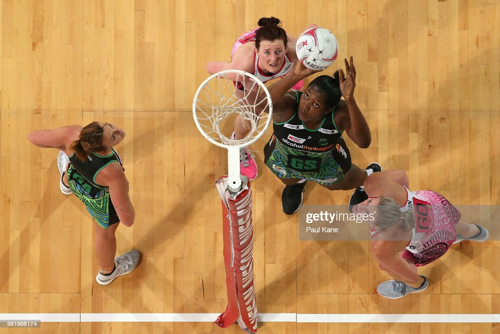 Super Netball Rd 8 - Fever v Thunderbirds