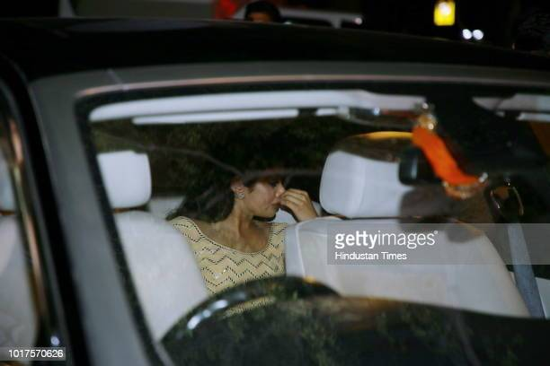 Jhanvi Kapoor during a special event to mark late actor Sridevi's 55th birth anniversary organised by Ministry of Information and Broadcasting on...
