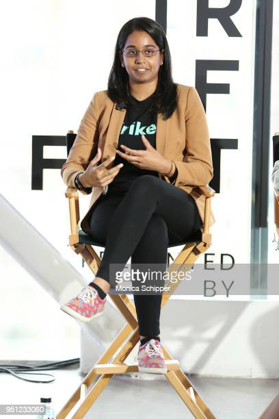 Jhanvi Shriram attends 'Future of Film AR We There Yet' during the 2018 Tribeca Film Festival at Spring Studios on April 25 2018 in New York City