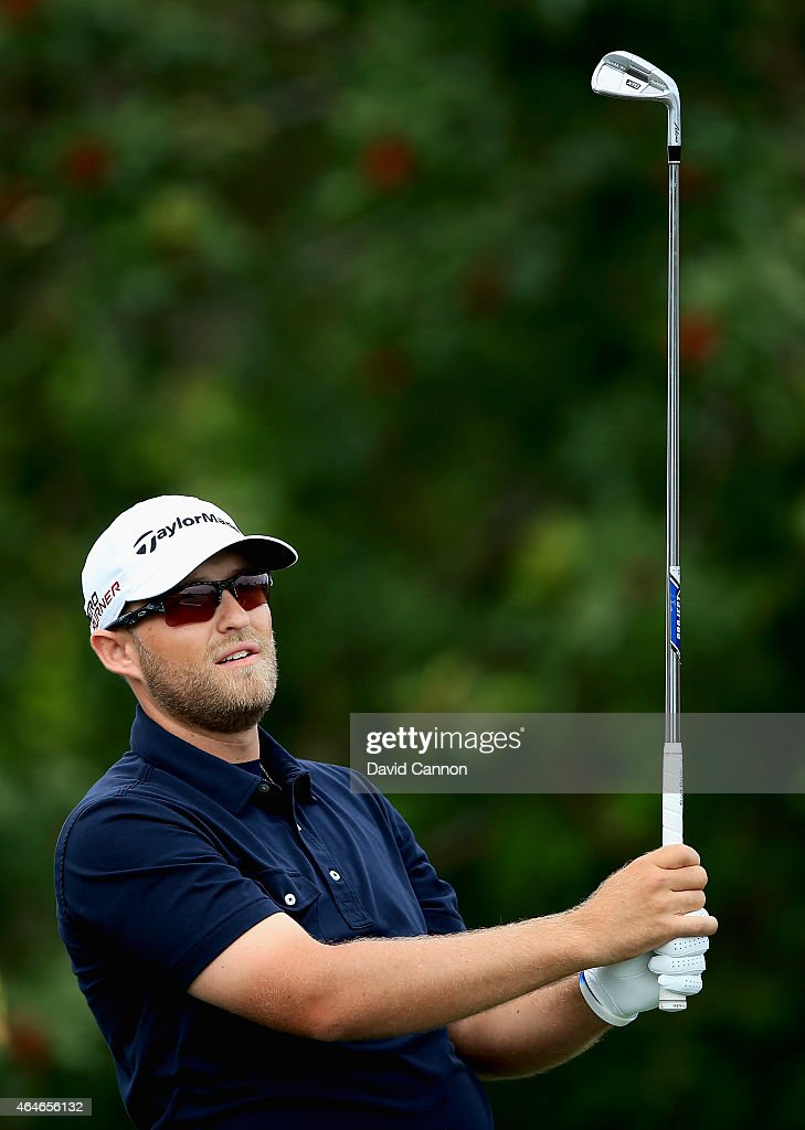 Jhared Hack plays during the first round of The Honda Classic at PGA National Resort & Spa - Champion Course on February 26, 2015 in Palm Beach Gardens, Florida.