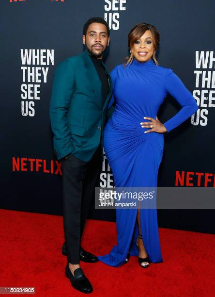 Jharrel Jerome and Niecy Nash attend When They See Us World Premiere at The Apollo Theater on May 20 2019 in New York City