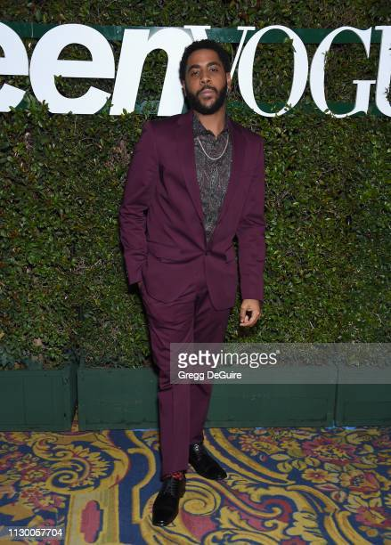 Jharrel Jerome attends Teen Vogue's Young Hollywood Party Presented By Snap at Los Angeles Theatre on February 15 2019 in Los Angeles California
