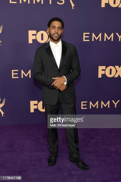 Jharrel Jerome attends the 71st Emmy Awards at Microsoft Theater on September 22 2019 in Los Angeles California