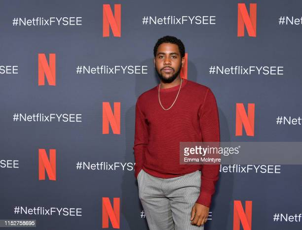 Jharrel Jerome attends the Netflix FYSEE Scene Stealer Panel at Raleigh Studios on May 30 2019 in Los Angeles California
