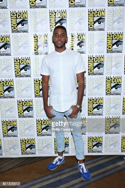 Jharrel Jerome attends the Stephen King Series Mr Mercedes press line at ComicCon International 2017 on July 23 2017 in San Diego California
