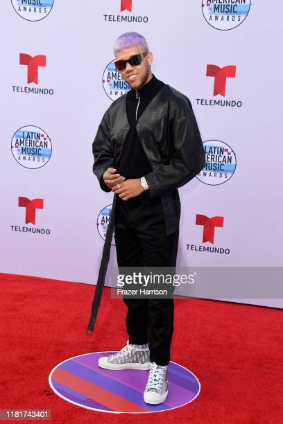 Jhay Cortez attends the 2019 Latin American Music Awards at Dolby Theatre on October 17 2019 in Hollywood California