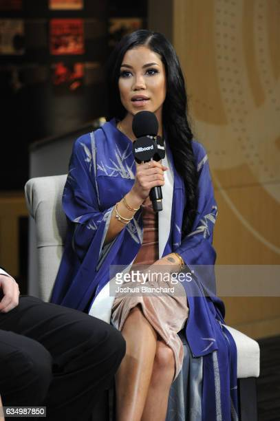 Jhene Aiko attends Billboard Live at the Grammy's Red Carpet at The GRAMMY Museum on February 12 2017 in Los Angeles California