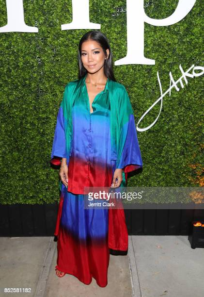 Jhene Aiko attends her TRIP launch party powered by Samsung at EB Gallery on September 22 2017 in Los Angeles California