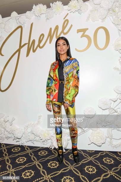 Jhene Aiko attends Jhene Aiko Surprise 30th Birthday Yacht Party on March 16 2018 in Marina del Rey California