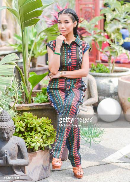 Jhene Aiko attends NAMI West LA Moroccan Gala Honoring Jhene Aiko at on May 20 2018 in Los Angeles United States