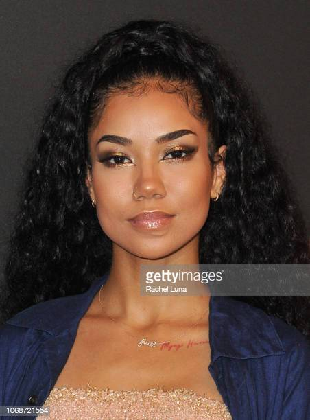 Jhene Aiko attends Spotify's 2nd Annual Secret Genius Awards at The Theatre at Ace Hotel on November 16 2018 in Los Angeles California