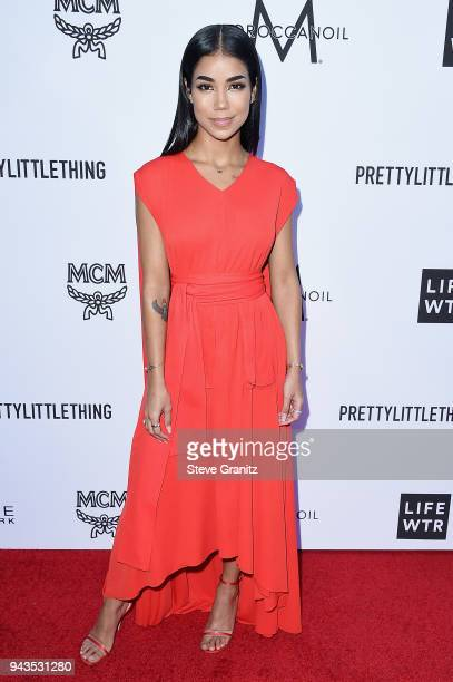 Jhene Aiko attends The Daily Front Row's 4th Annual Fashion Los Angeles Awards at Beverly Hills Hotel on April 8 2018 in Beverly Hills California
