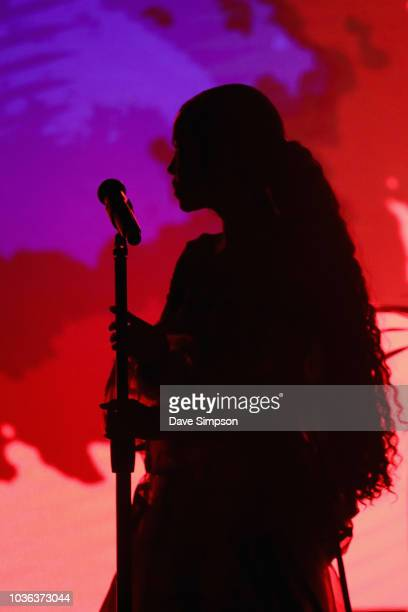 Jhene Aiko performs as part of her TRIP tour at Logan Campbell Centre on September 20 2018 in Auckland New Zealand