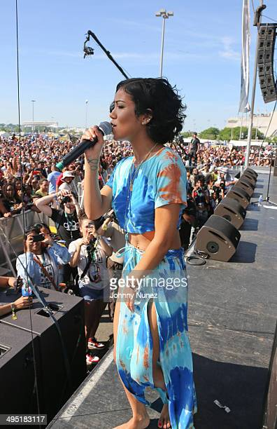 31129d60e646 Jhene Aiko performs in concert during Hot 97 Summer Jam 2014 at MetLife  Stadium on June