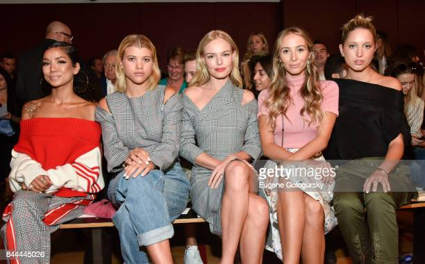 Jhene Aiko Sofia Richie Kate Bosworth Harley VieraNewton and Princess Olympia of Greece attend the Monse fashion show during New York Fashion Week...