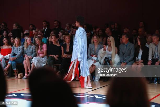 Jhene Aiko Sophia Richie Kate Bosworth Harley VieraNewton Princess Olympia of Greece Paris Hilton Jaime King Nicki Minaj and Stefano Tonchi attend...