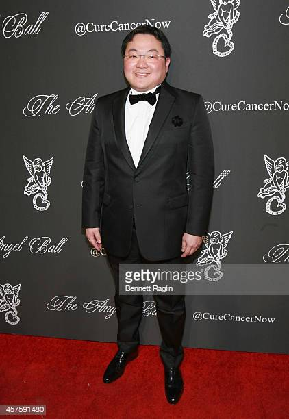 Jho Low Director of Jynwel Foundation honored for his work to eradicate cancer at the 2014 Angel Ball at Cipriani Wall Street on October 20 2014 in...