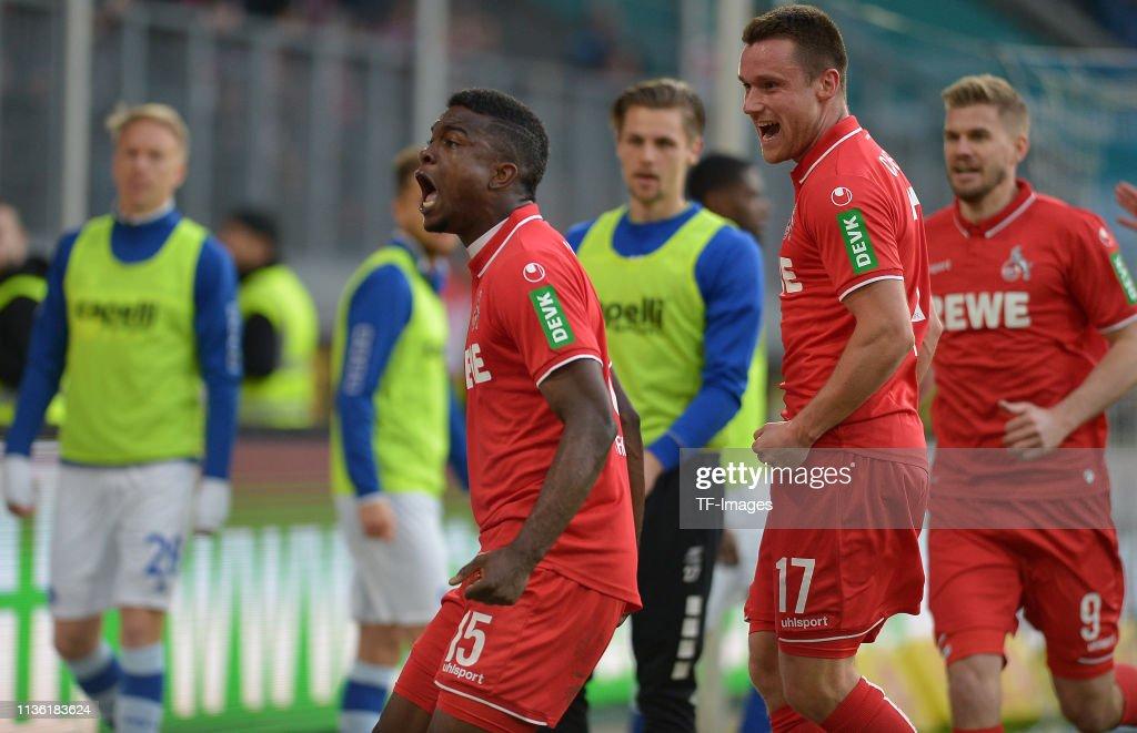 MSV Duisburg v 1. FC Koeln - Second Bundesliga : News Photo