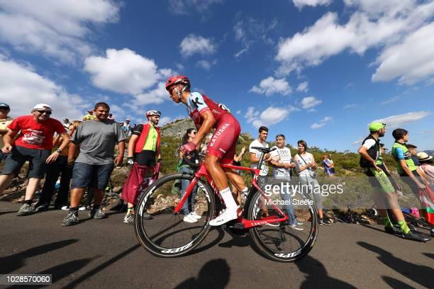 Jhonatan Restrepo of Colombia and Team Katusha Alpecin / Alto de la Camperona / Fans / Public / during the 73rd Tour of Spain 2018 Stage 13 a 1748km...