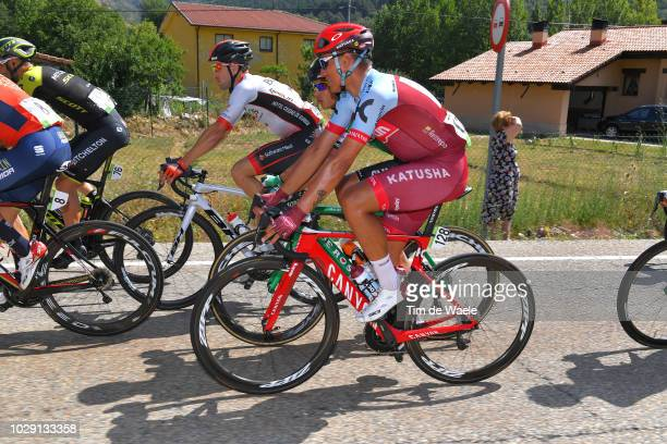 Jhonatan Restrepo of Colombia and Team Katusha Alpecin / during the 73rd Tour of Spain 2018, Stage 14 a 171,4km stage from Cistierna to Alto Les...