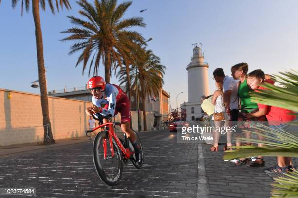 Jhonatan Restrepo of Colombia and Team Katusha Alpecin / Lighthouse / during the 73rd Tour of Spain 2018 Stage 1 a 8km Individual Time Trial from...