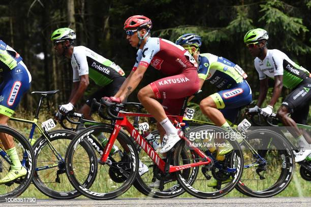 Jhonatan Restrepo of Colombia and Team Katusha / during the 39th Tour Wallonie 2018, Stage 4 a161,4km from Malmedy to Herstal 144m / VOO / TRW / on...