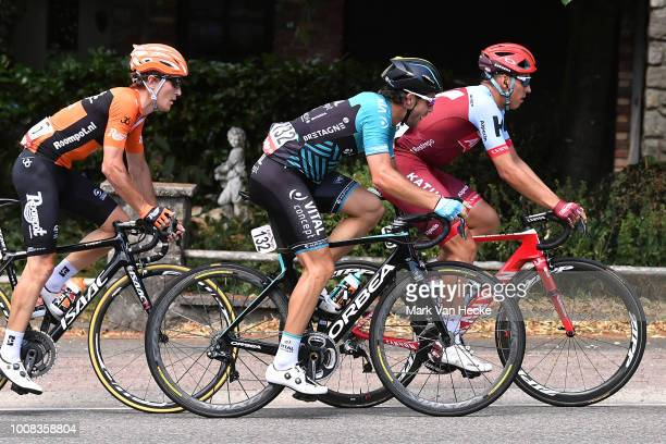 Jhonatan Restrepo of Colombia and Team Katusha / Jonas Van Genechten of Belgium and Team Vital Concept Cycling Club / during the 39th Tour Wallonie...