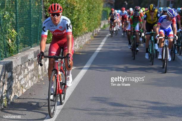 Jhonatan Restrepo Valencia of Colombia and Team Katusha-Alpecin / during the 112th Il Lombardia 2018 a 241km race from Bergamo to Como / IL / on...