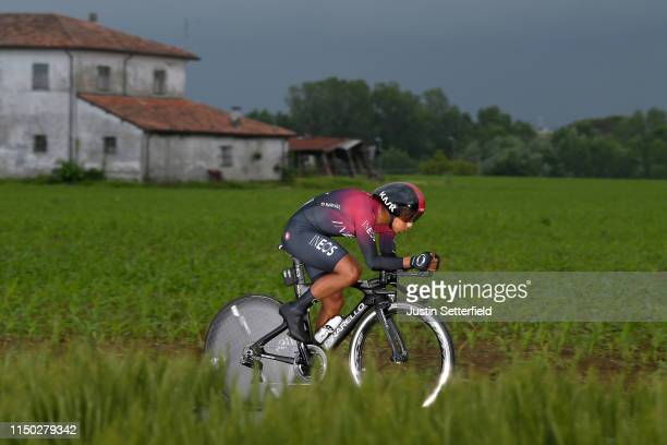 Jhonnatan Narvaez of Ecuador and Team INEOS / during the 102nd Giro d'Italia 2019 Stage 9 a 348km Individual Time Trial from Riccione to San Marino...