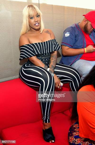 Jhonni Blaze attends 2017 Luda Day Weekend Day Party at Elleven45 on September 2 2017 in Atlanta Georgia