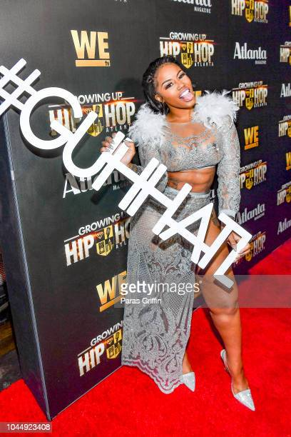 Jhonni Blaze attends WE tv Celebrates The Return Of Growing Up Hip Hop Atlanta at Club Tongue Groove on October 2 2018 in Atlanta Georgia
