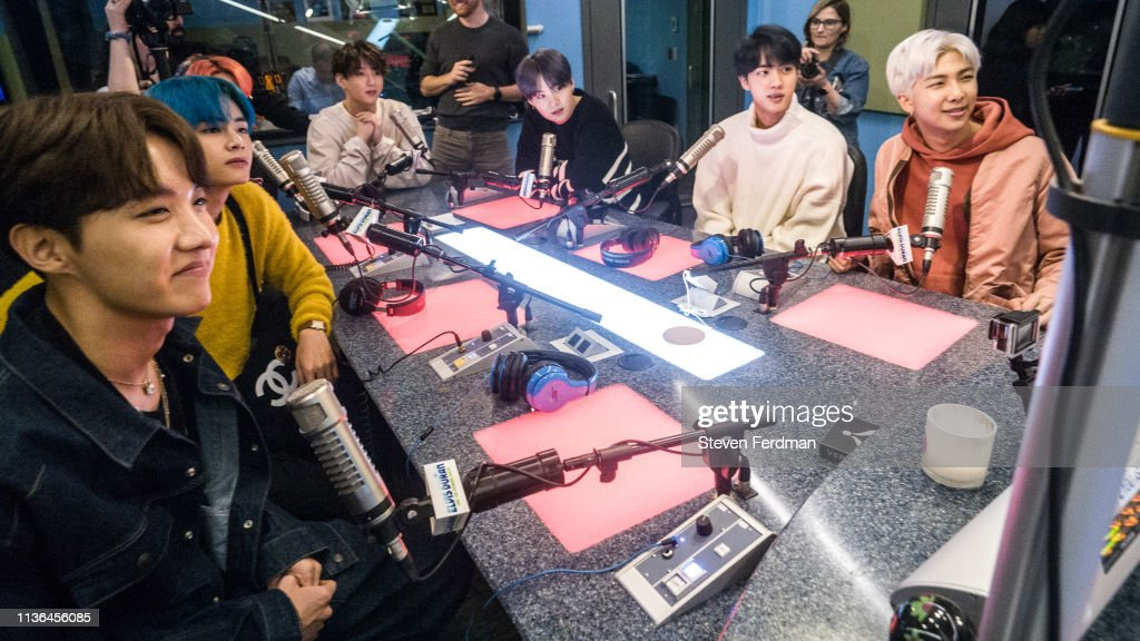 "BTS Visits ""The Elvis Duran Z100 Morning Show"" : News Photo"