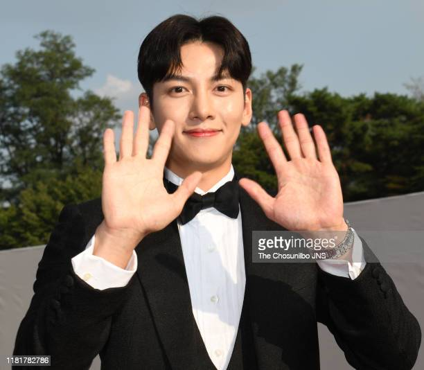 Ji ChangWook attends '14th Seoul International Drama Awards 2019' at the Peace Hall in Kyung Hee University on August 28th 2019 in Seoul South Korea