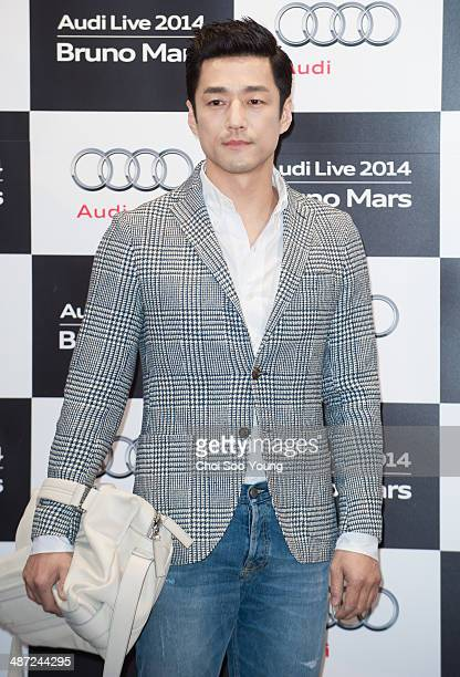 Ji JinHee attends the Audi Live 2014 'Bruno Mars concert' at Olympic Park on April 8 2014 in Seoul South Korea