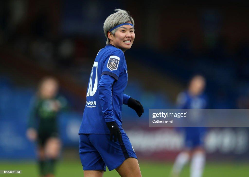 Chelsea Women v Tottenham Hotspur Women - Barclays FA Women's Super League : News Photo