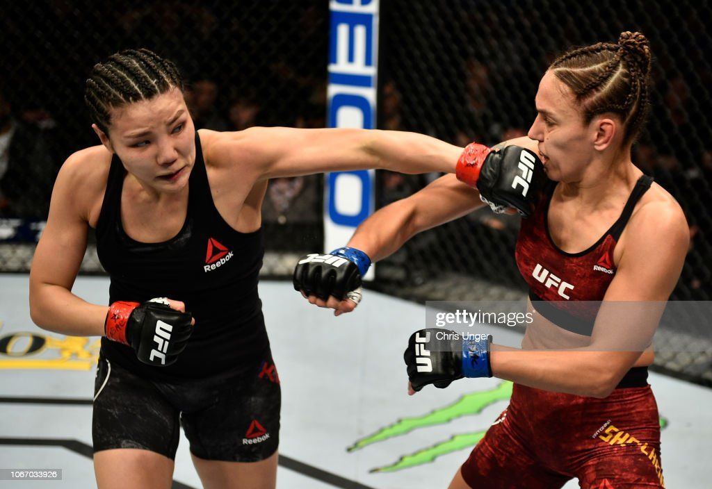 The Ultimate Fighter Finale: Kim v Shevchenko : News Photo