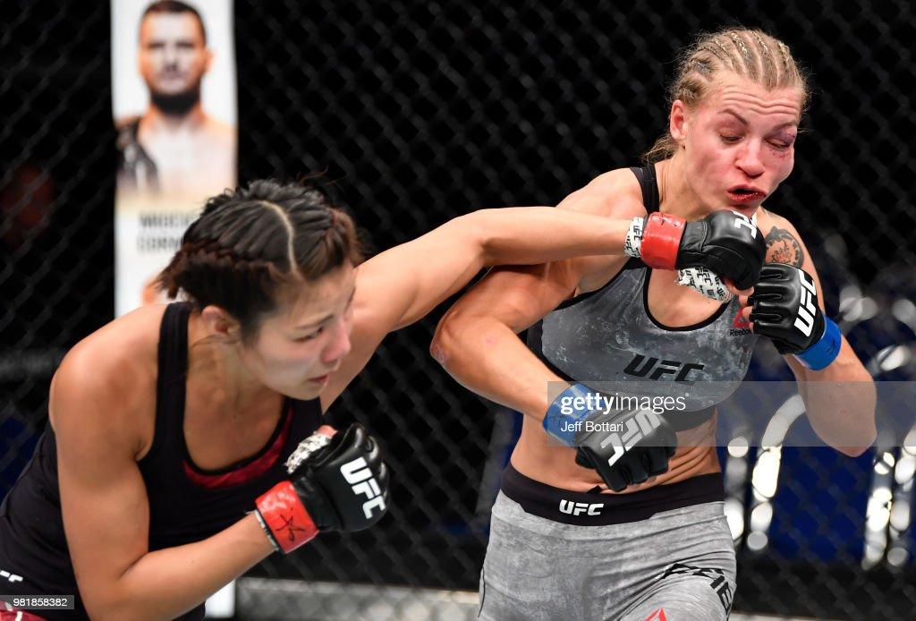 UFC Fight Night: Kim v Fábián : News Photo
