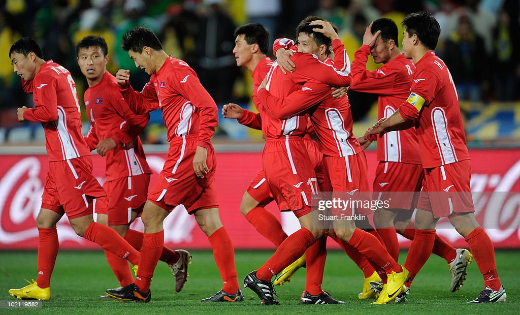 Brazil v North Korea: Group G - 2010 FIFA World Cup : News Photo
