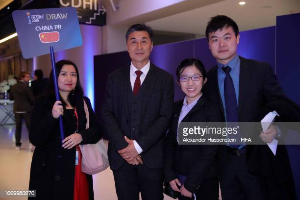 Jia Xiuquan coach of China arrives for the FIFA Women's World Cup France 2019 Draw at La Seine Musicale on December 8 2018 in Paris France