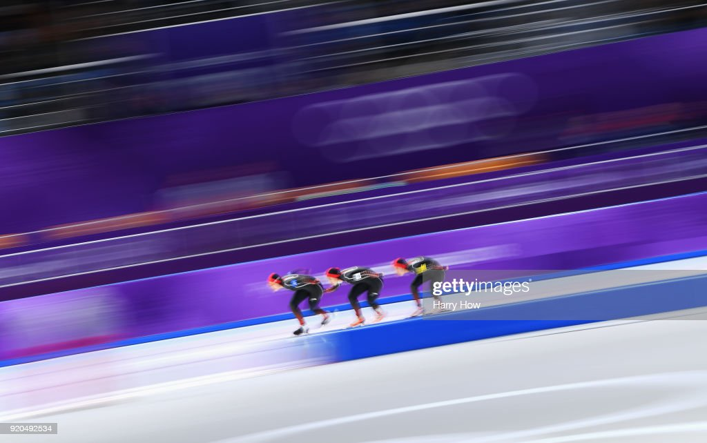 Speed Skating - Winter Olympics Day 10