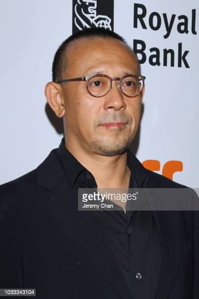 Jiang Wen attends the 'Hidden Man' premiere during 2018 Toronto International Film Festival at Roy Thomson Hall on September 14 2018 in Toronto Canada