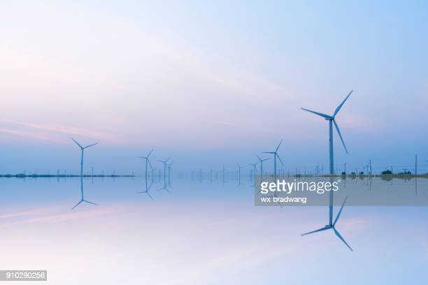 jiangsu - turbina a vento foto e immagini stock