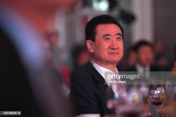 Jianlin Wang of China Wanda Group President / during the 4th UCI Gala Awards 2018 / Shangri-La Hotel / UCI Gala Awards / on October 21, 2018 in...