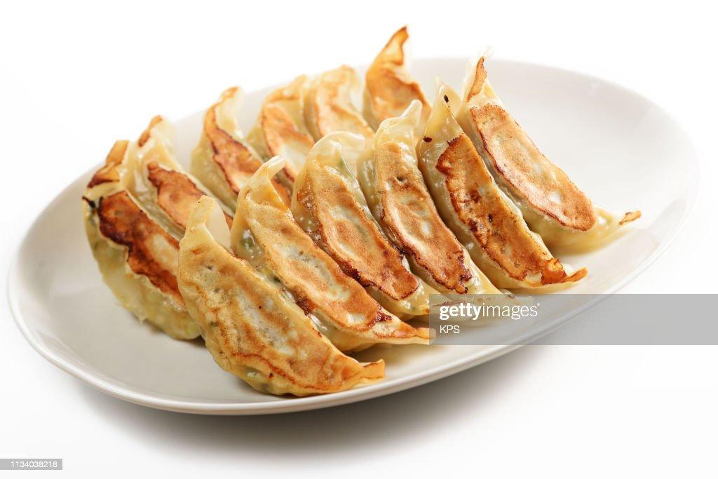 Jiaozi. Chinese food. : Stock Photo