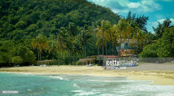 jibacoa beach hut - weiß stock pictures, royalty-free photos & images