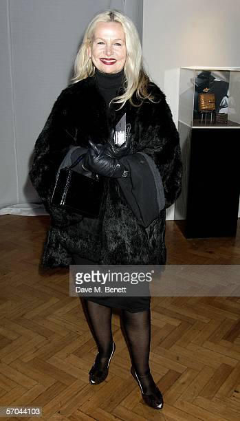 Jibby Beane attends the 100th Anniversary Party for elite German pen brand Montblanc at the Royal Horticultural Halls on March 9 2006 in London...