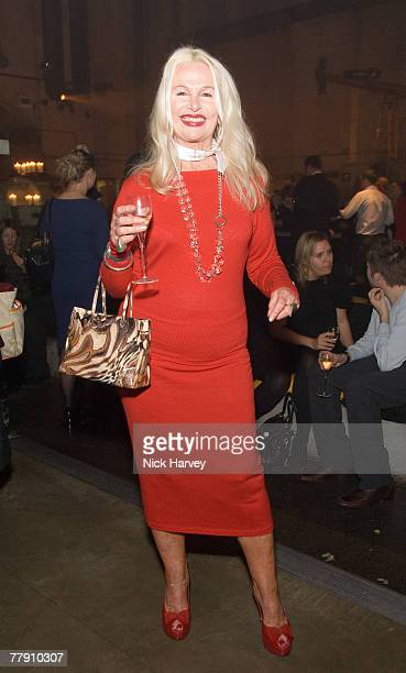 Jibby Beane attends the party for the Veuve Cliquot celebratation of 130 years of its iconic colour 13th November 17 2007 in London England
