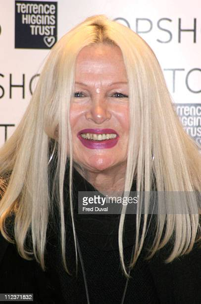 Jibby Beane during Topshop and Terrence Higgins Trust Present A Charity Auction For World AIDS Day at Topshop Oxford Street in London Great Britain