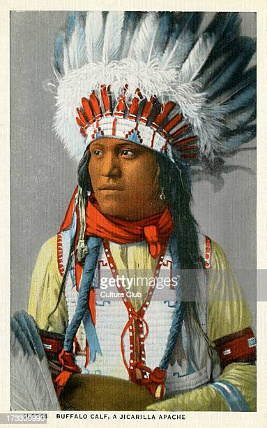 A Jicarilla Apache American Photo taken early 20th century the Jicarilla were removed from their land in the 19th century and placed on reservations...